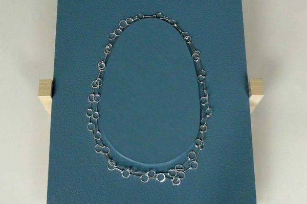 Lace Necklace with Display